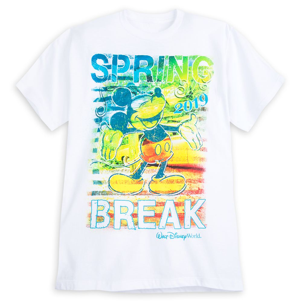 Mickey Mouse Spring Break T-Shirt for Men – Walt Disney World 2019