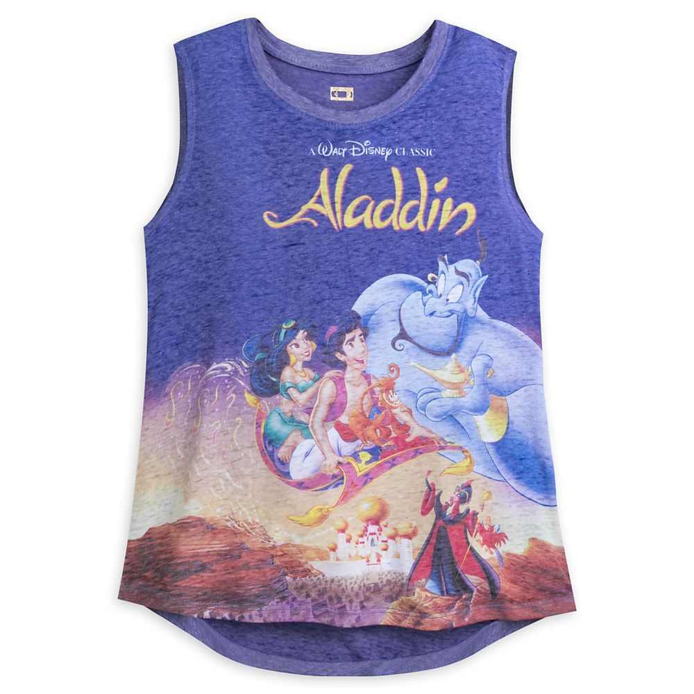 Aladdin VHS Cover Tank Top for Women Official shopDisney
