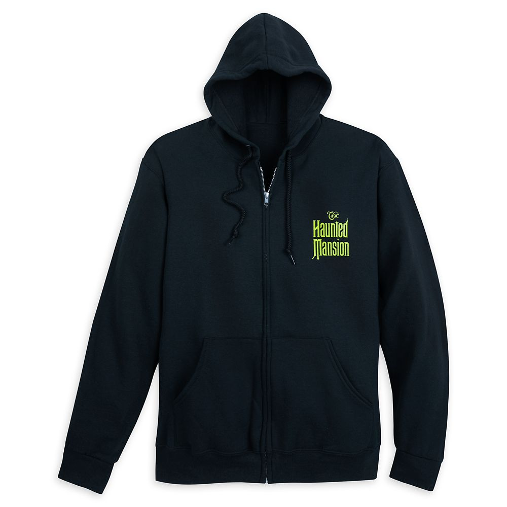 The Haunted Mansion Zip Hoodie for Men