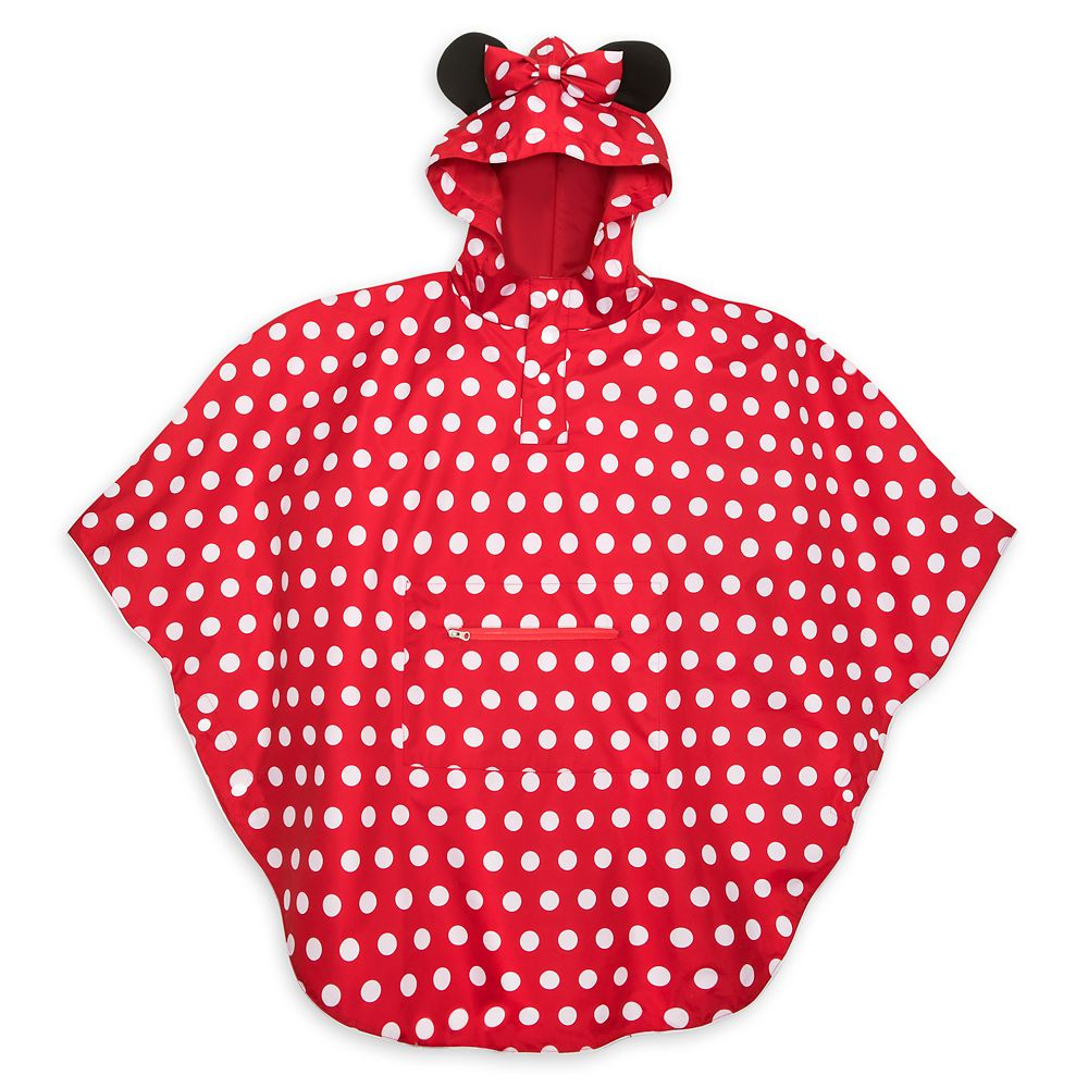 Minnie Mouse Rain Poncho for Adults