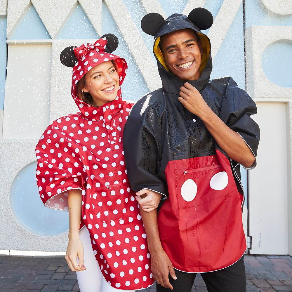 Mickey Mouse Rain Poncho for Adults