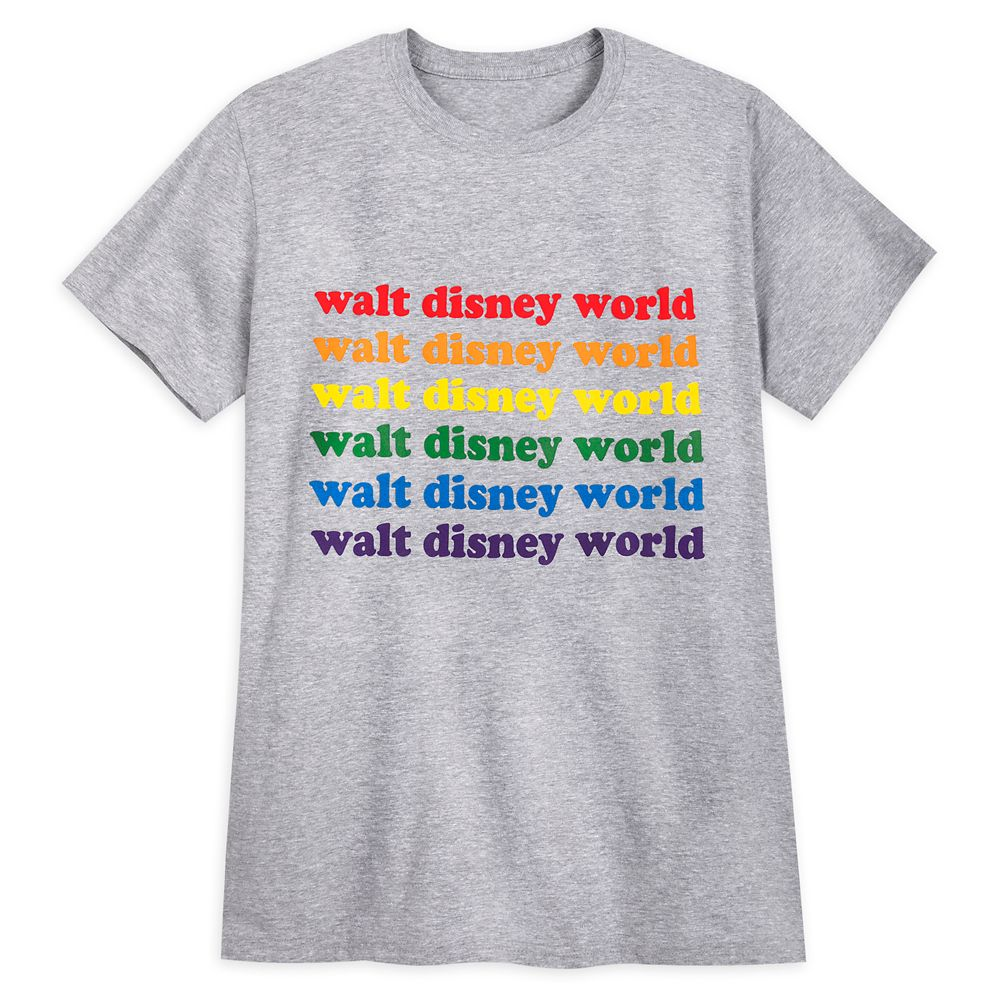 Rainbow Disney Collection Walt Disney World T-Shirt for Adults