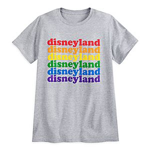 Rainbow Disney Collection Disneyland T-Shirt for Adults