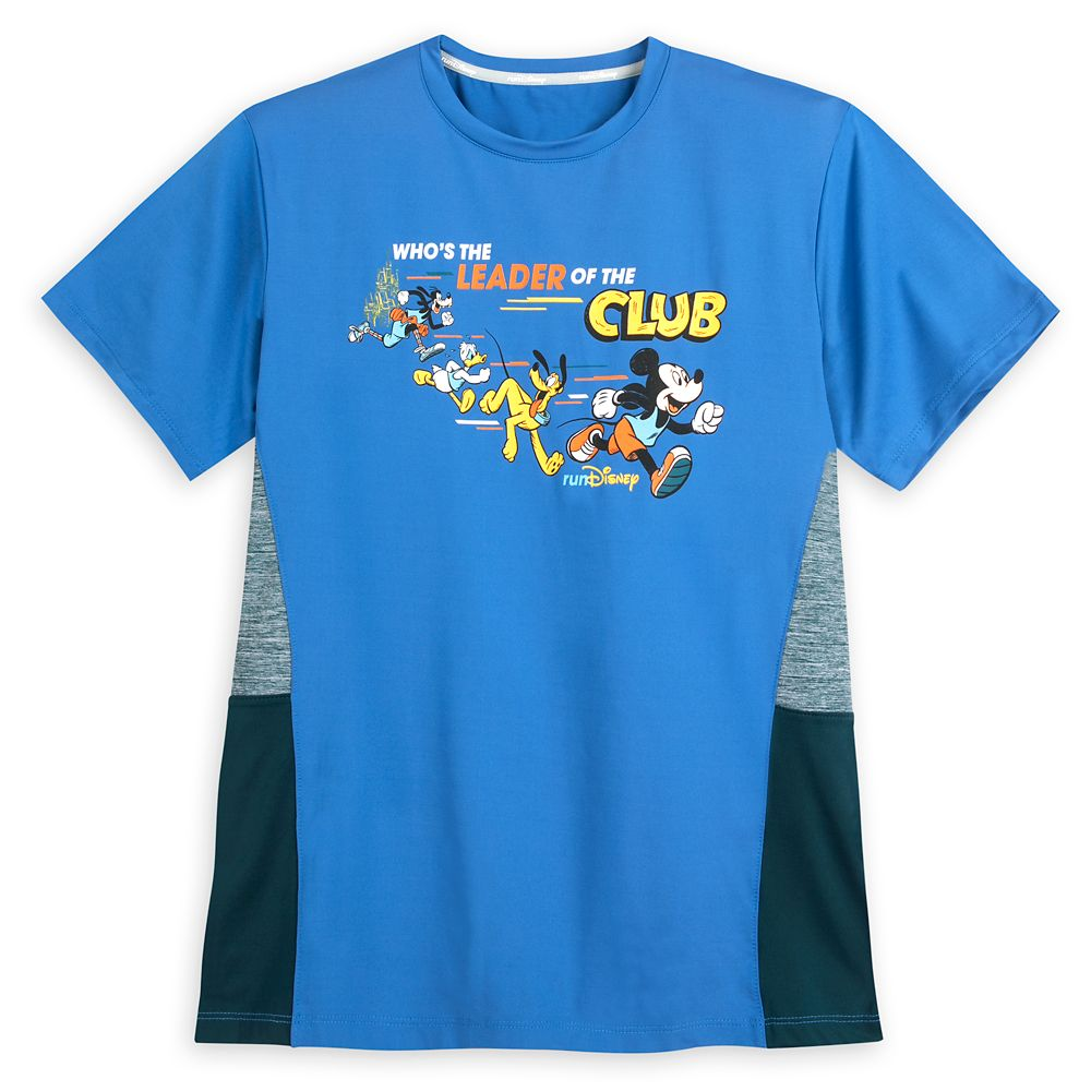 Mickey Mouse and Friends runDisney Performance T-Shirt for Adults