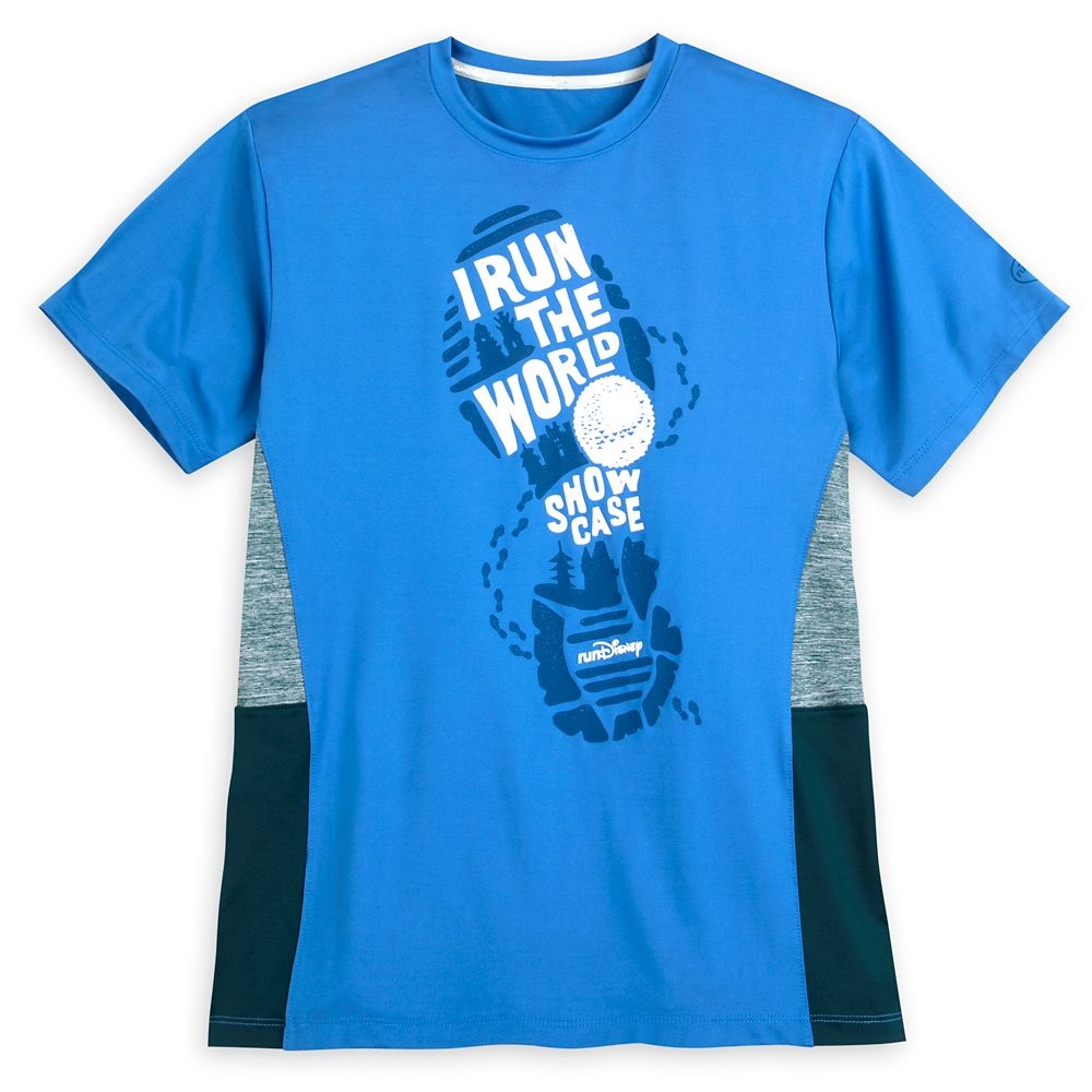 runDisney I Run the World Showcase Performance T-Shirt for Adults