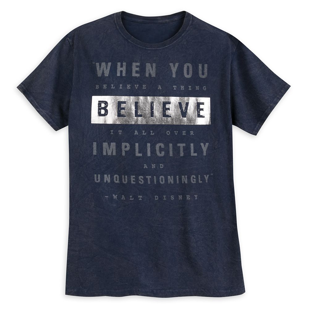 Walt Disney ''When You Believe...'' T-Shirt for Adults