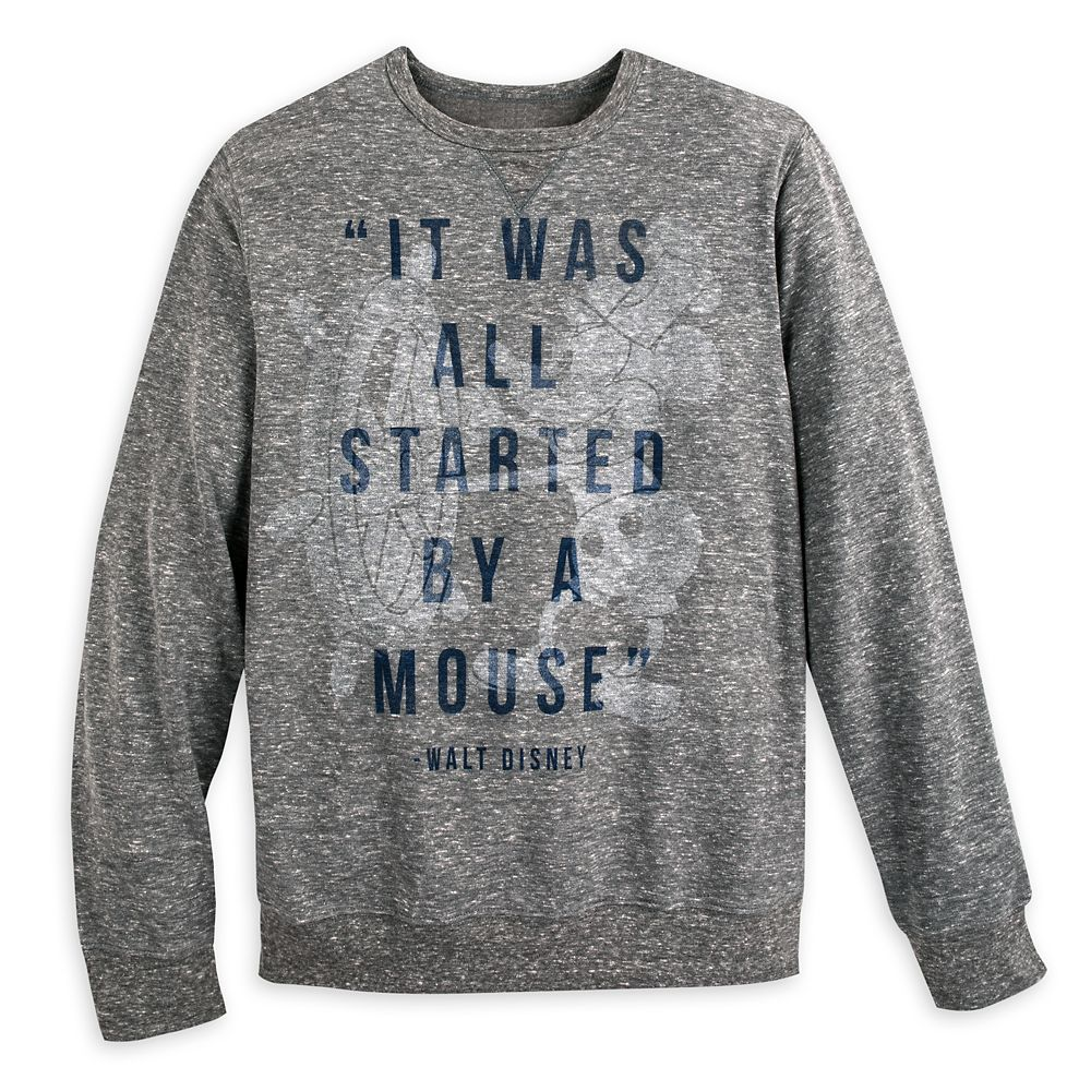Walt Disney ''It Was All Started by a Mouse'' Sweatshirt for Adults