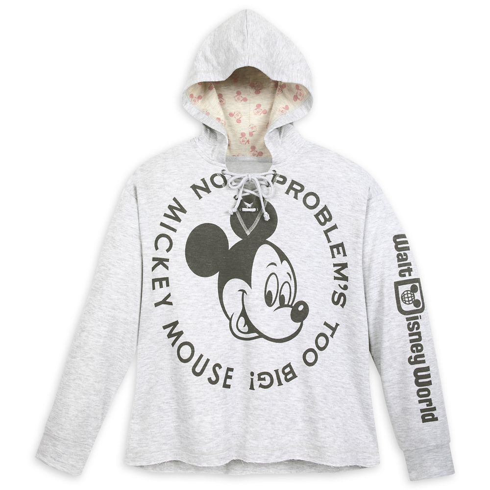 Mickey Mouse Hooded Pullover for Women – Walt Disney World
