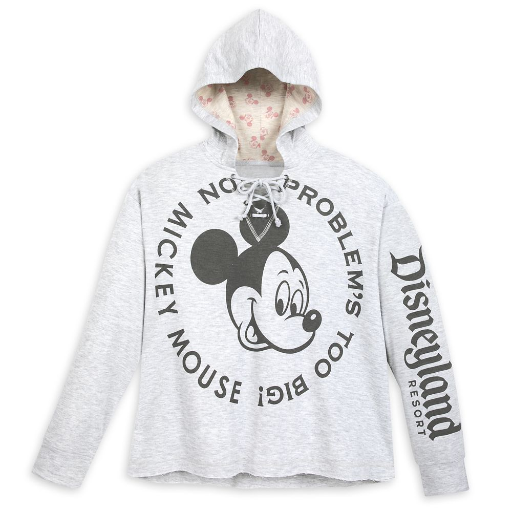 Mickey Mouse Hooded Pullover for Women – Disneyland
