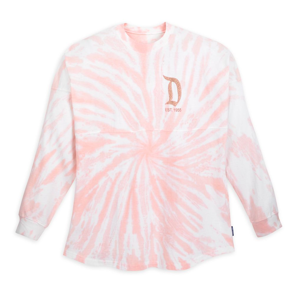 Disneyland Spirit Jersey for Adults  Tie-Dye Briar Rose Gold