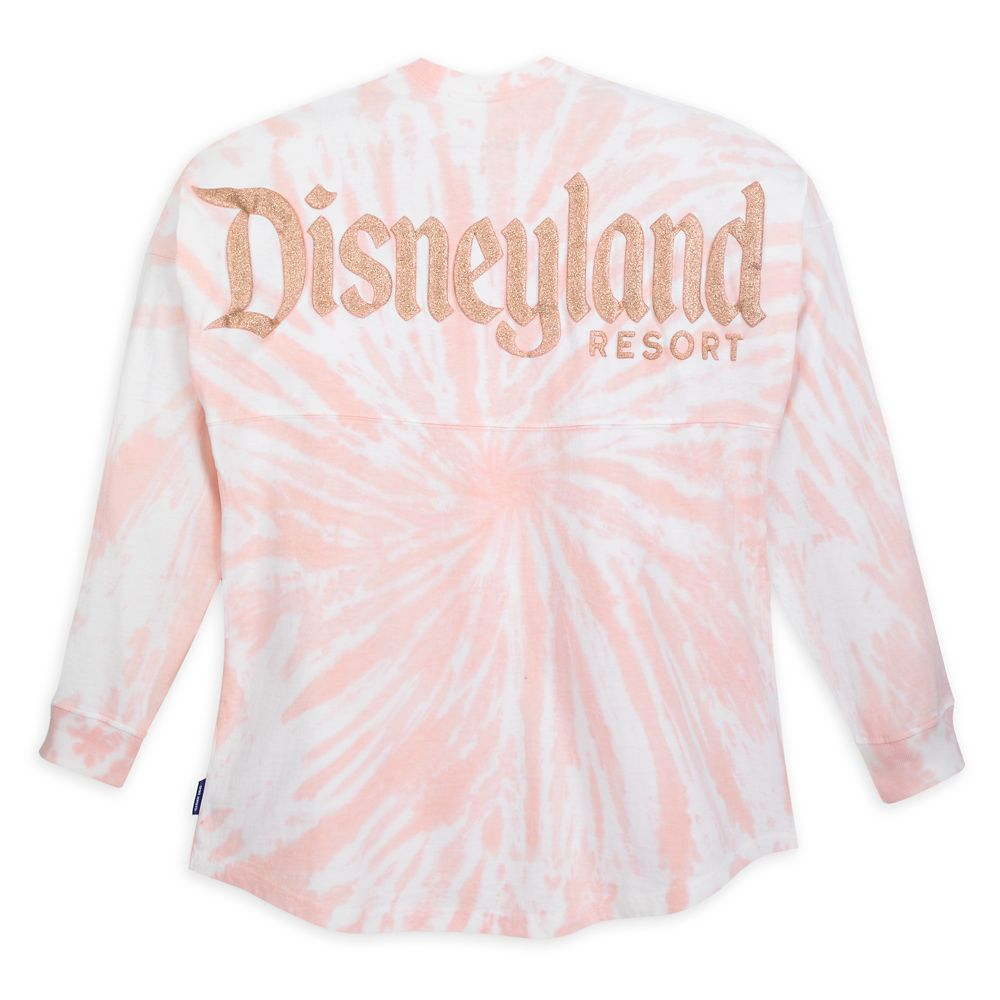 Disneyland Spirit Jersey for Adults – Tie-Dye Briar Rose Gold