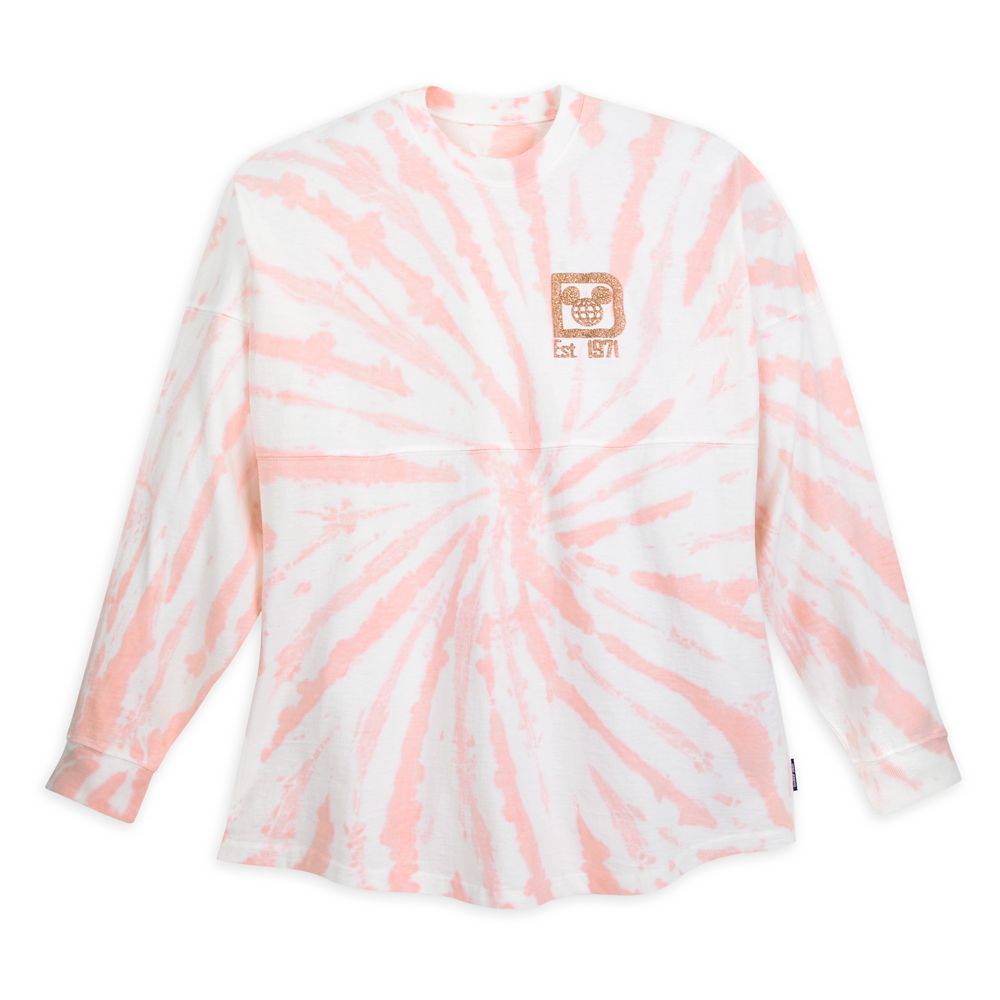 Walt Disney World Spirit Jersey for Adults – Tie-Dye Briar Rose Gold