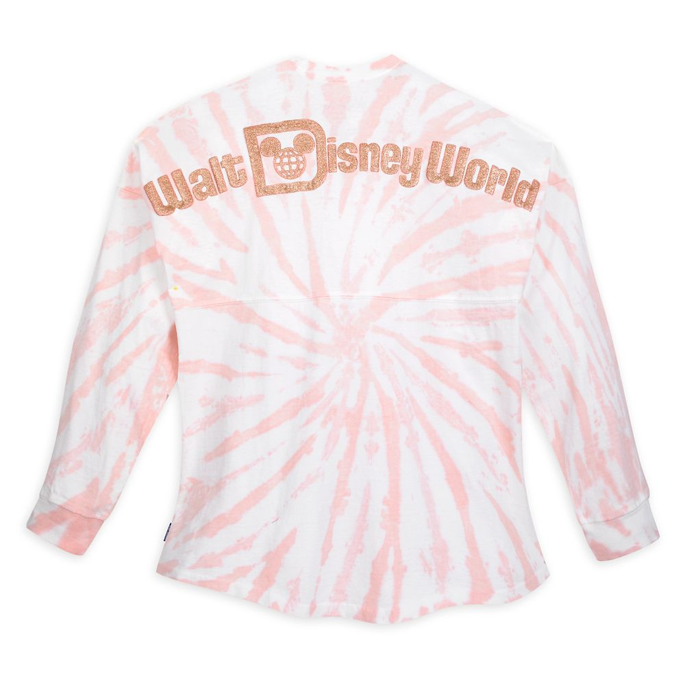 Walt Disney World Spirit Jersey for Adults – Tie-Dye Briar Rose Gold