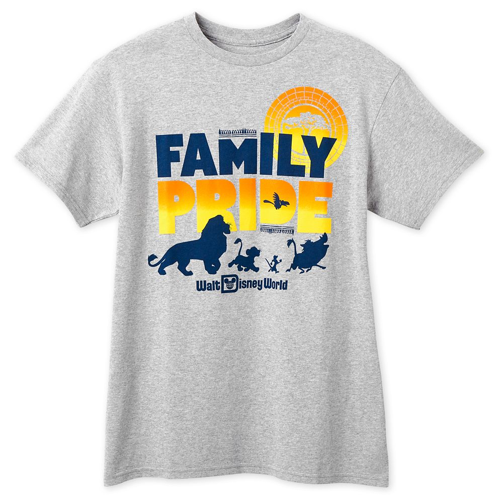 The Lion King Family Pride T-Shirt for Adults – Walt Disney World