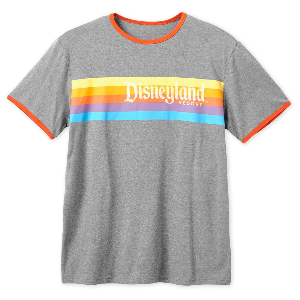 Disneyland Retro Ringer T-Shirt for Adults