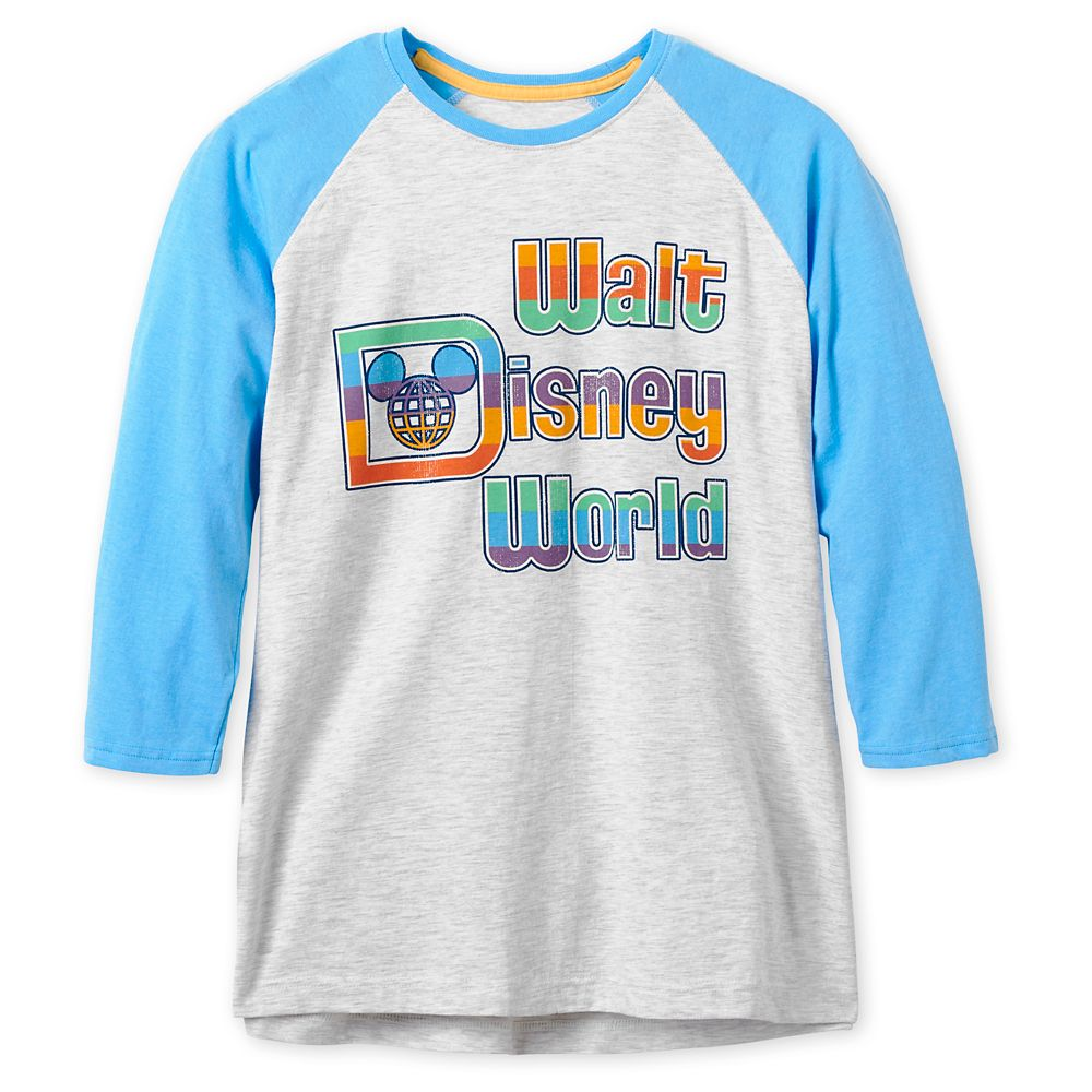 Walt Disney World Baseball T-Shirt for Adults