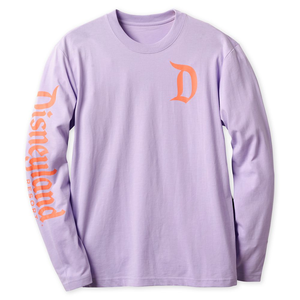 Disneyland Logo Long Sleeve Tee for Adults – Lavender