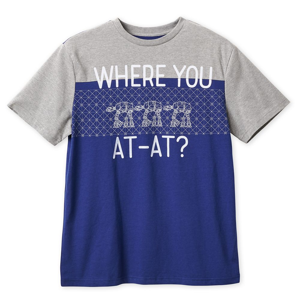 AT  AT T-Shirt for Men  Star Wars Official shopDisney