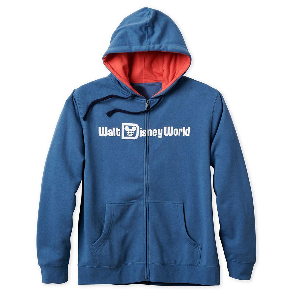 Walt Disney World Logo Zip Hoodie for Men