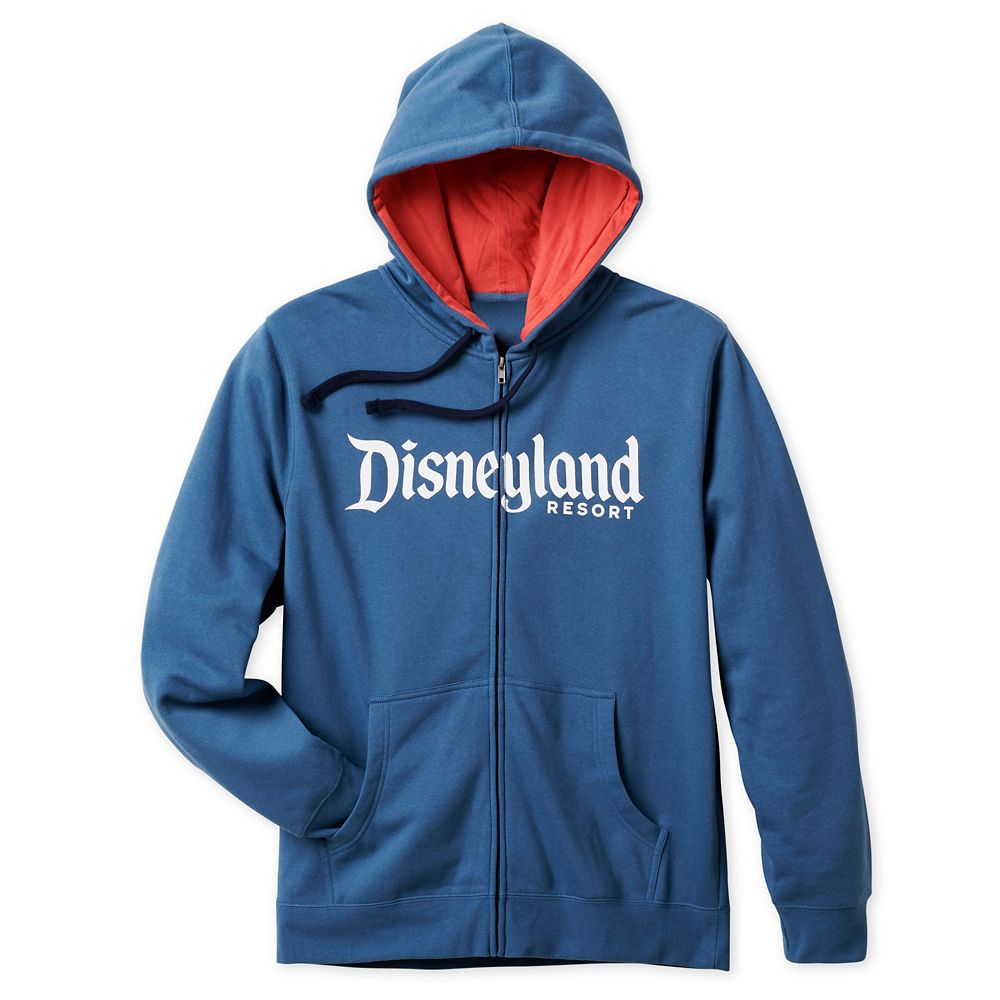 Disneyland Logo Zip Hoodie for Men