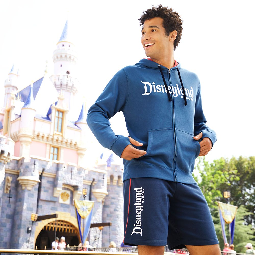 Disneyland Logo Zip Hoodie for Men