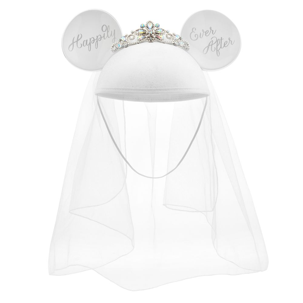 Minnie Mouse Bride Ear Hat