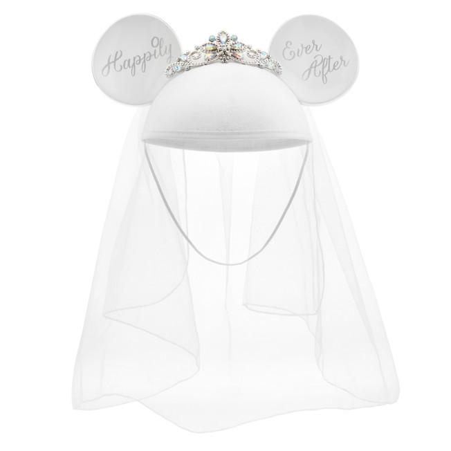 Minnie Mouse Bride Ear Hat