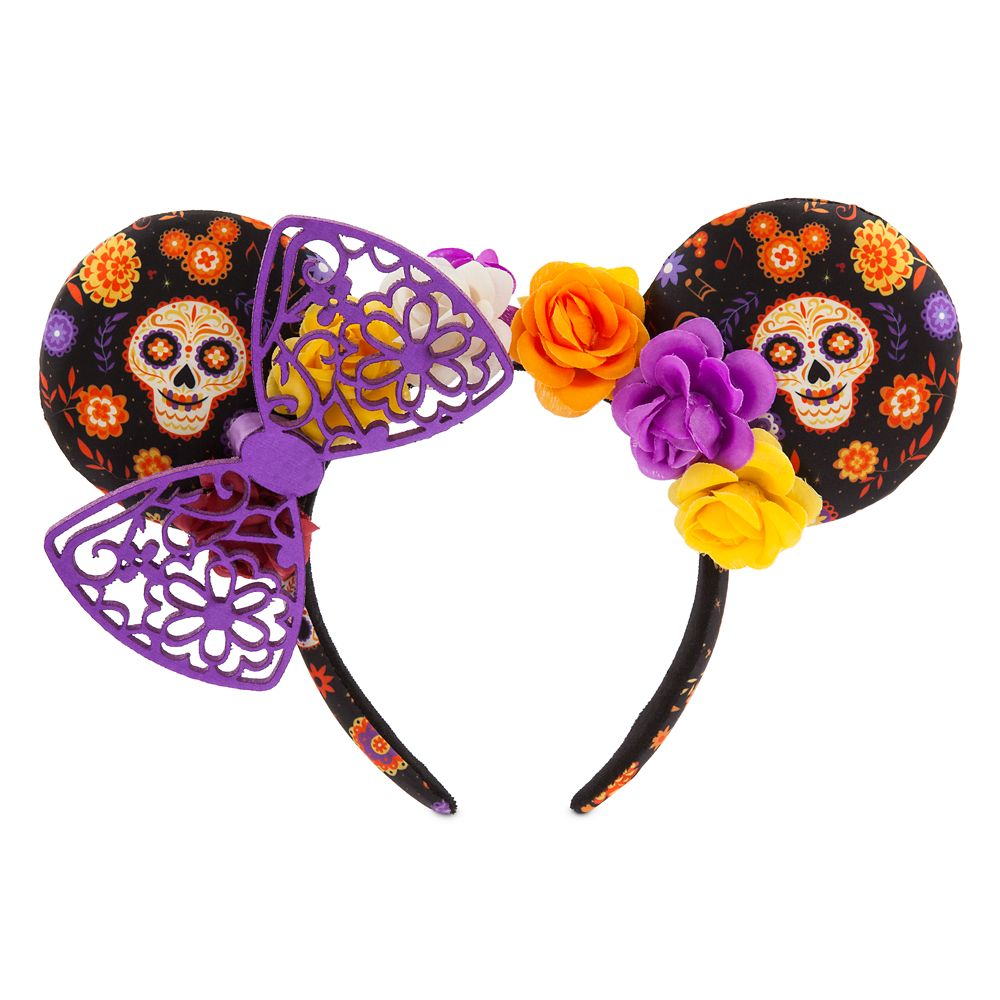 Minnie Mouse Dia De Los Muertos Ear Headband