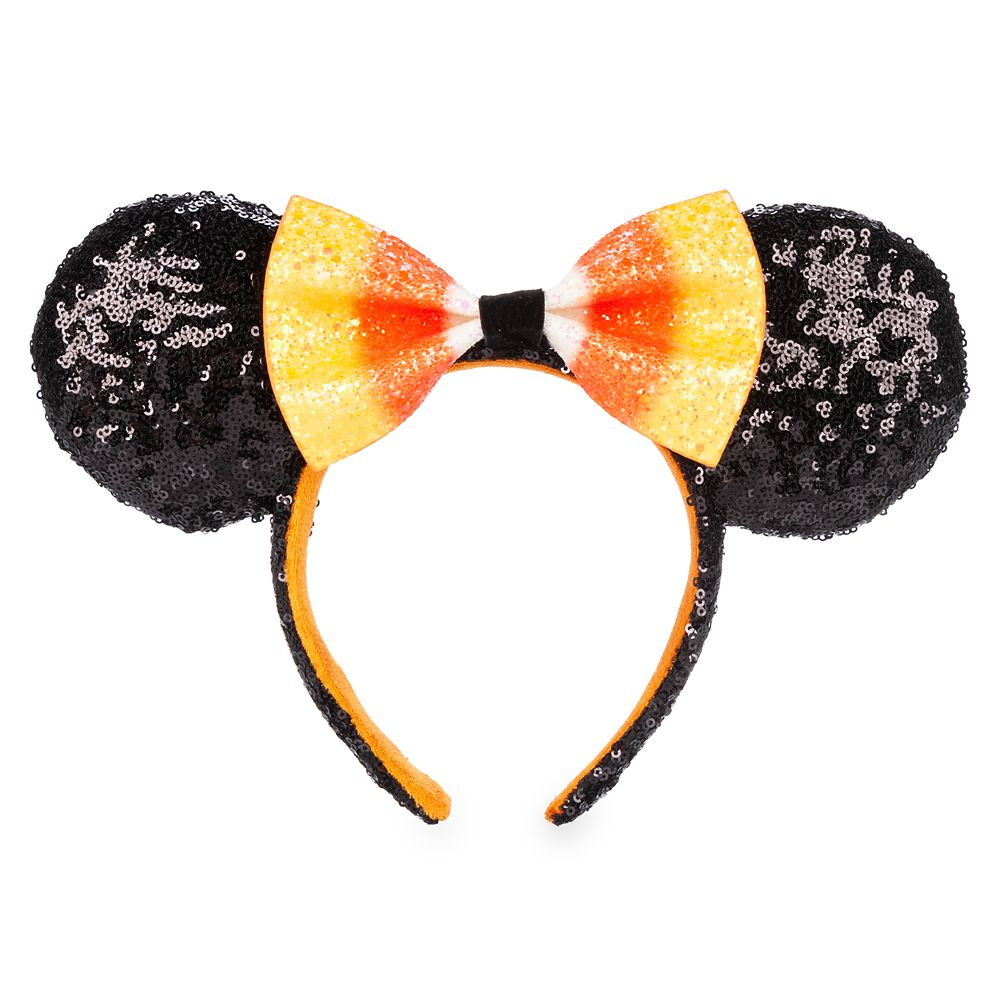 Minnie Mouse Candy Corn Ear Headband Official shopDisney Disney Halloween merchandise