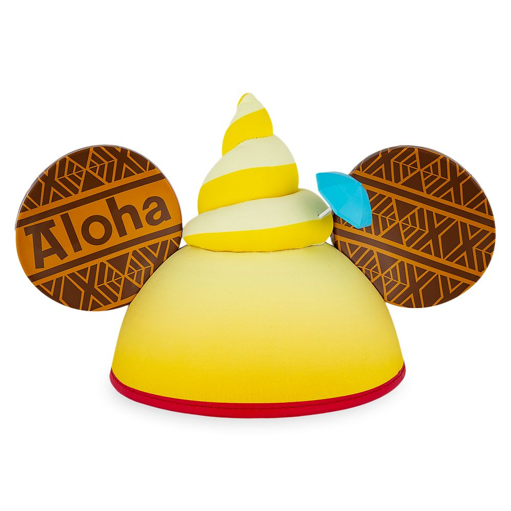 Pineapple Swirl Ear Hat for Adults Official shopDisney