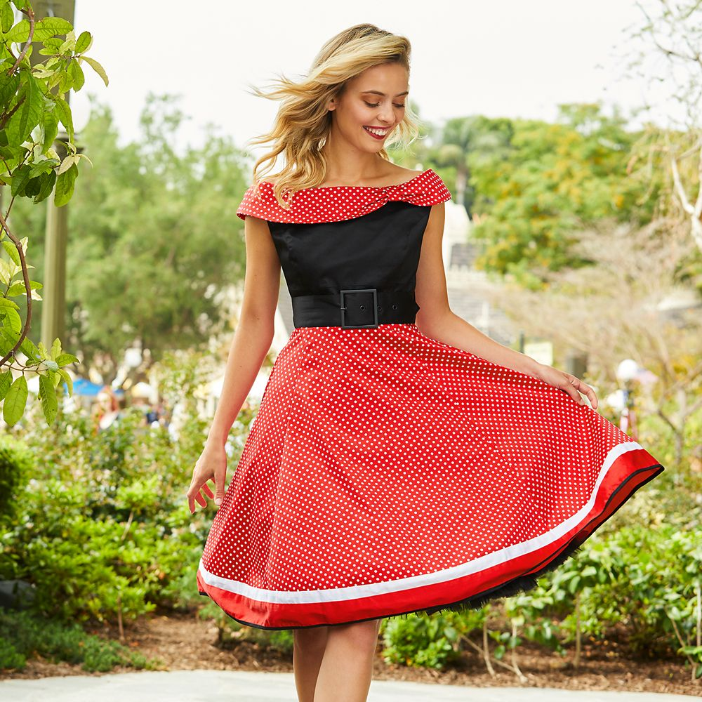 500 Vintage Style Dresses for Sale | Vintage Inspired Dresses Minnie Mouse Fancy Dress for Women $128.00 AT vintagedancer.com