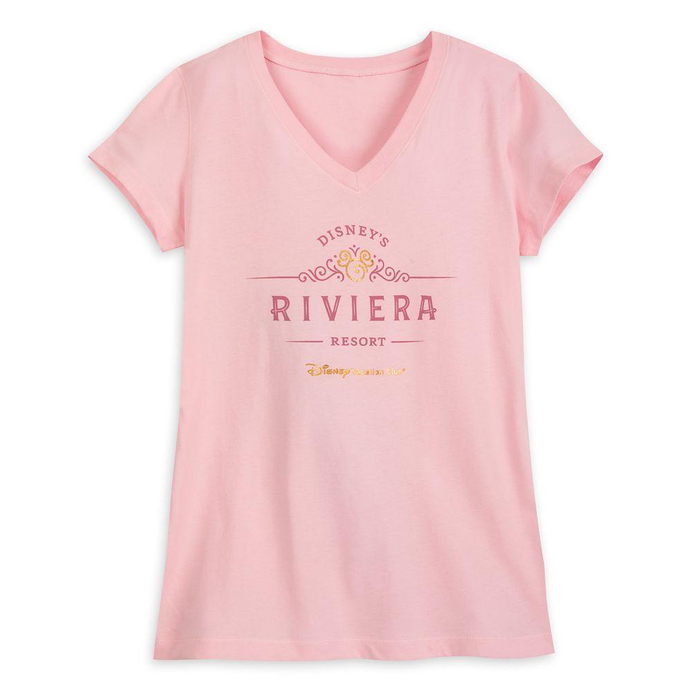 Disney's Riviera Resort T-Shirt for Women – Disney Vacation Club