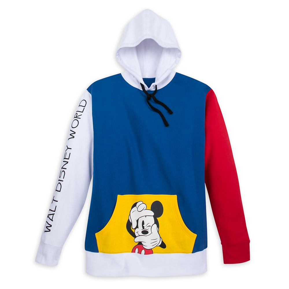 Mickey Mouse Pullover Hoodie for Men – Walt Disney World