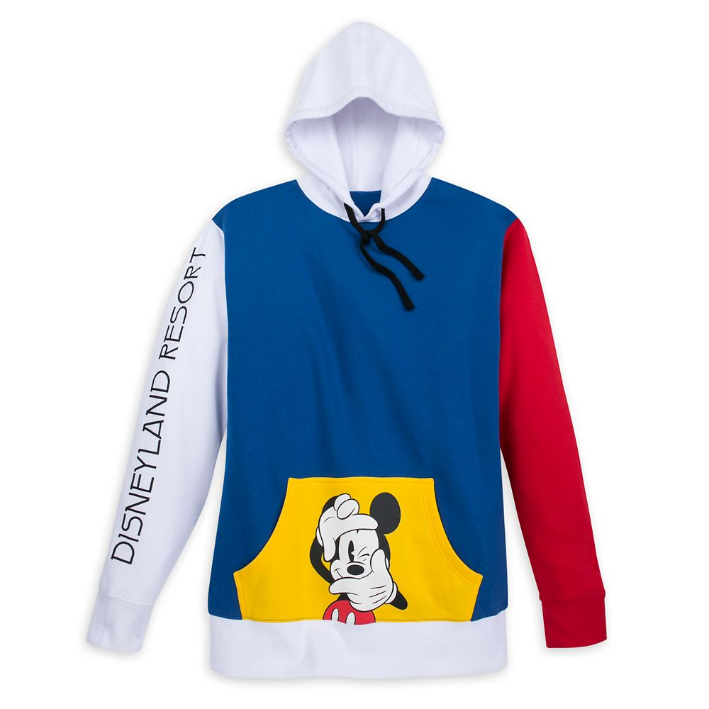 Mickey Mouse Pullover Hoodie for Men – Disneyland