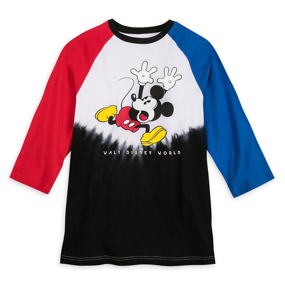 Mickey Mouse Color Block Tie-Dye T-Shirt for Men  Walt Disney World