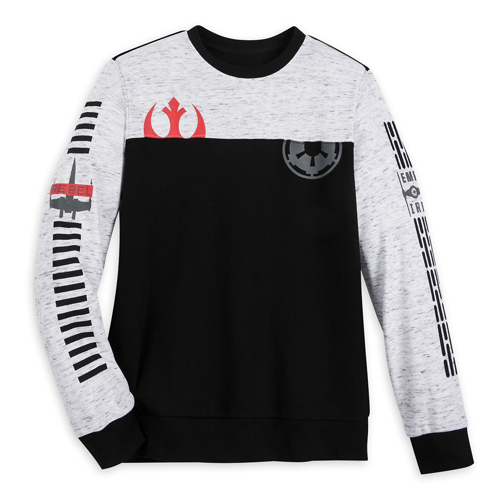 Star Wars Long Sleeve Pullover Shirt for Men Official shopDisney