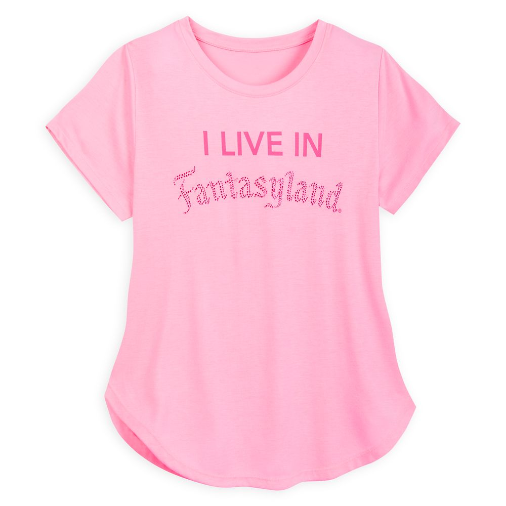 Fantasyland Jeweled T-Shirt for Women