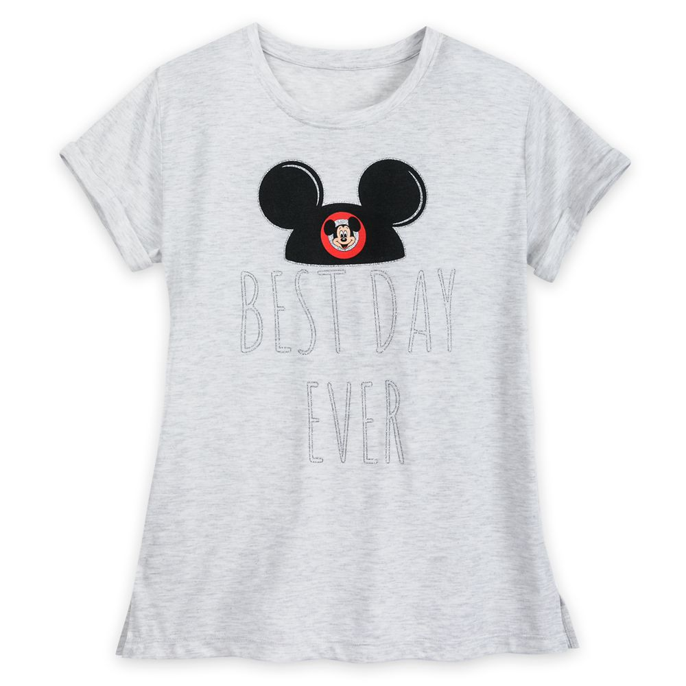 Mickey Mouse Best Day Ever T-Shirt for Women