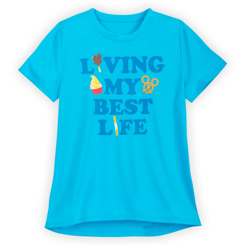 Disney Parks Food Icons T-Shirt for Women