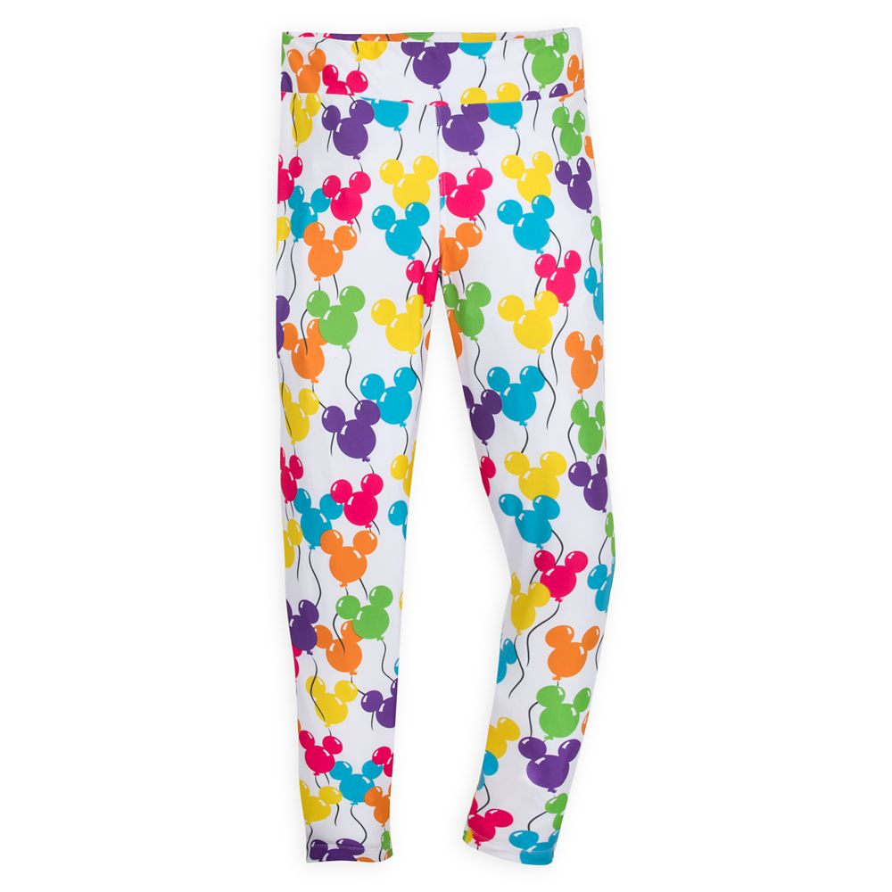 Mickey Mouse Balloon Leggings for Women