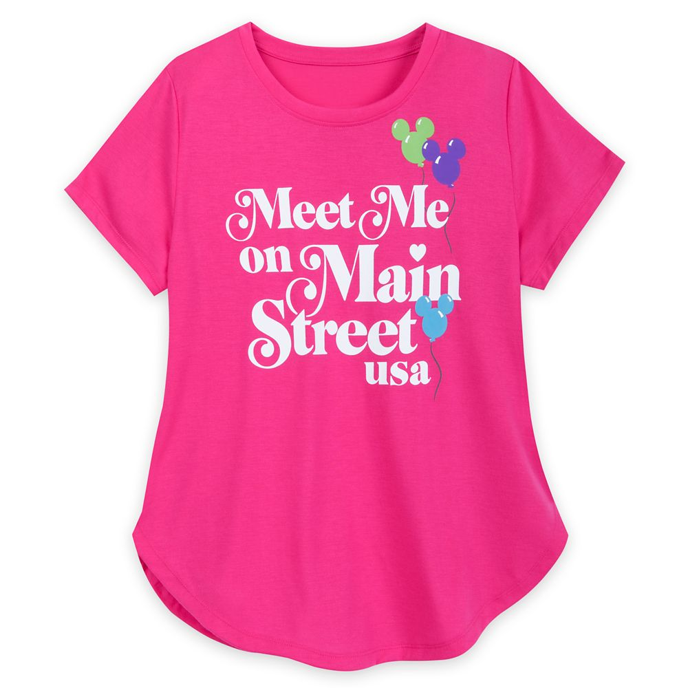 Main Street U.S.A. T-Shirt for Women