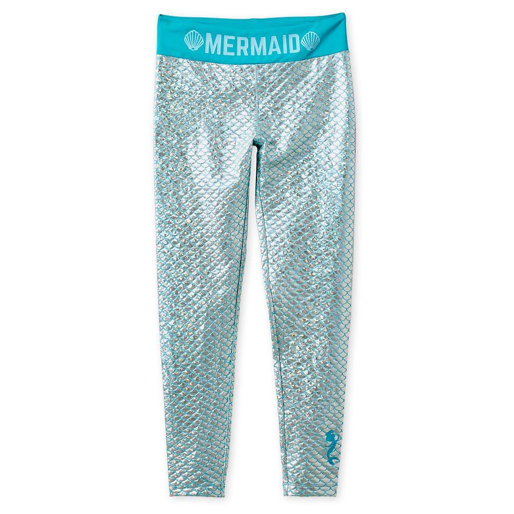 Ariel Metallic Leggings for Women Official shopDisney