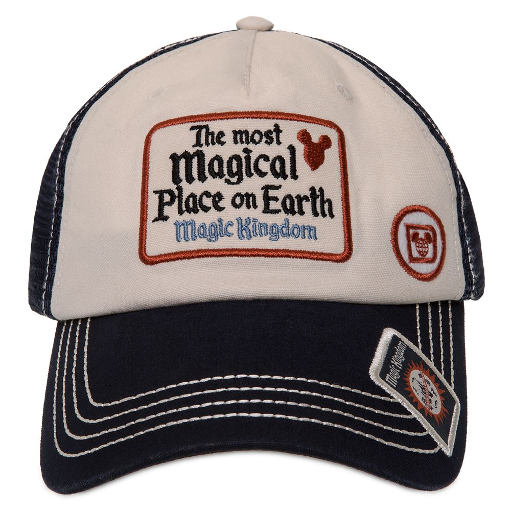 Magic Kingdom Baseball Cap for Adults by Junk Food