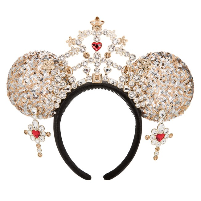 Minnie Mouse Ear Tiara Headband for Adults by Heidi Klum – Limited Release
