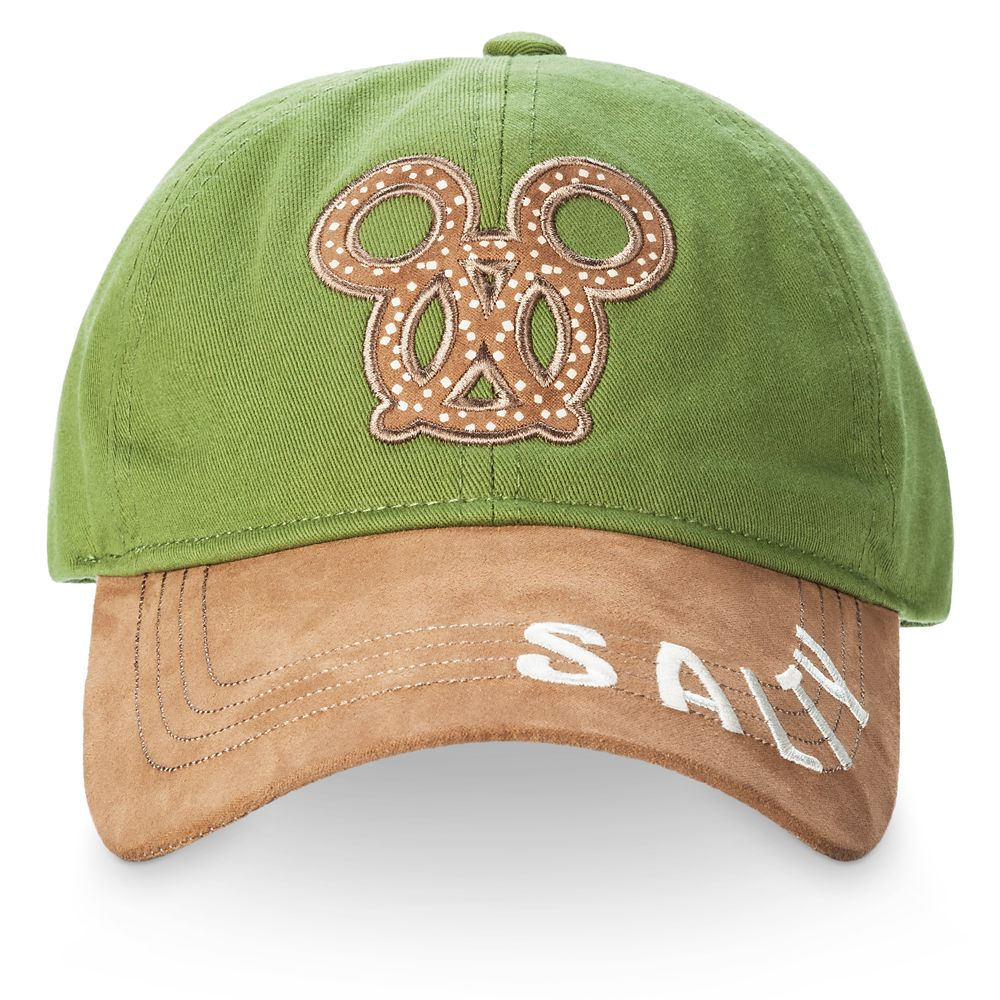 Mickey Mouse Pretzel Baseball Cap for Adults