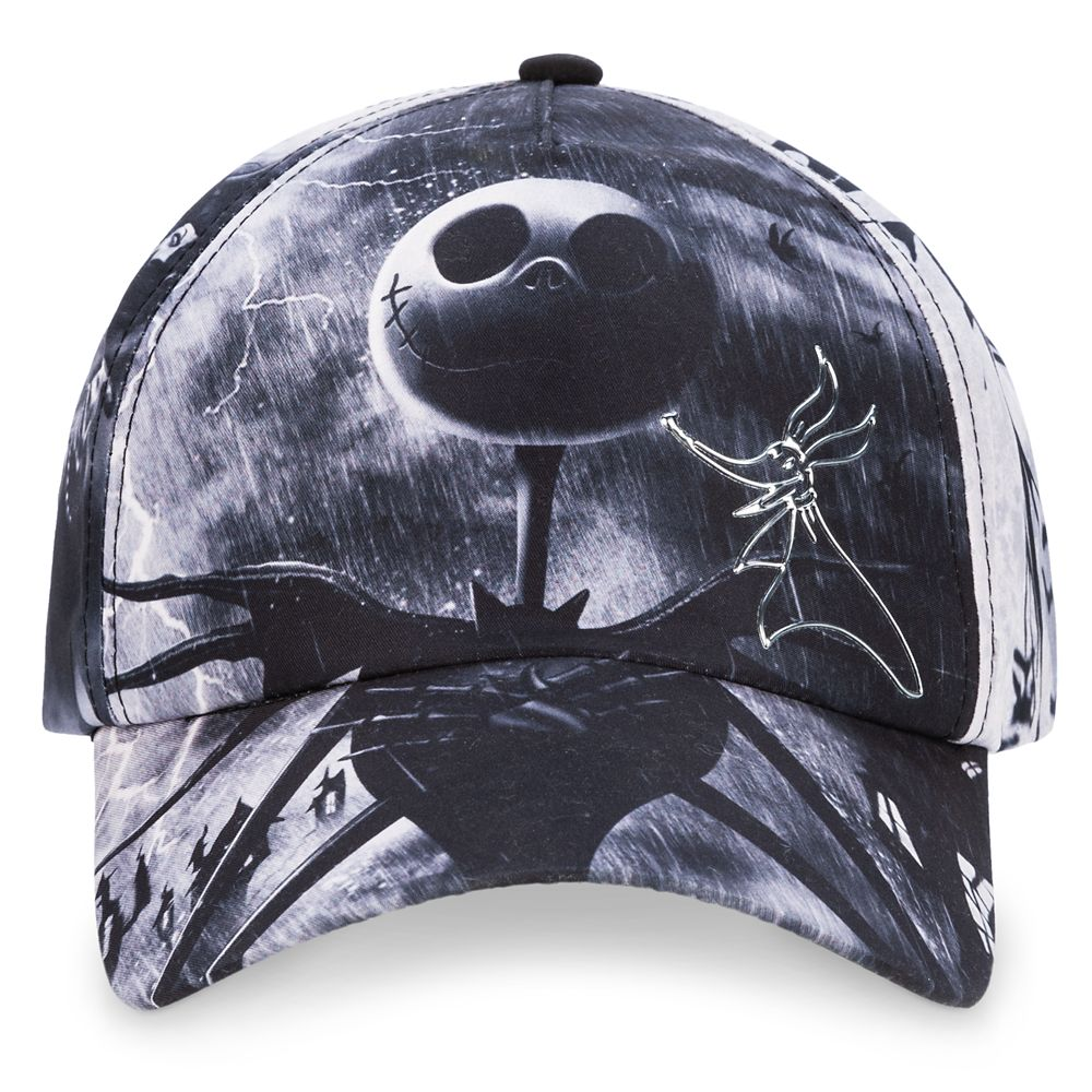 The Nightmare Before Christmas Baseball Cap for Adults