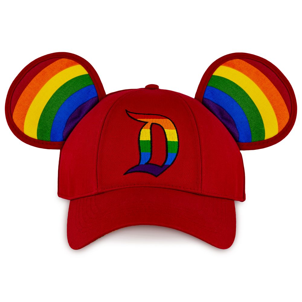 Rainbow Disney Collection Mickey Mouse Ears Baseball Cap for Adults – Disneyland