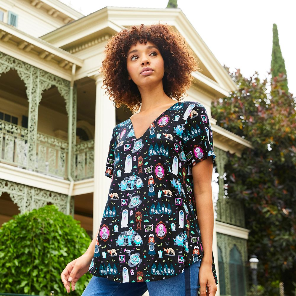 The Haunted Mansion Fashion Top for Women