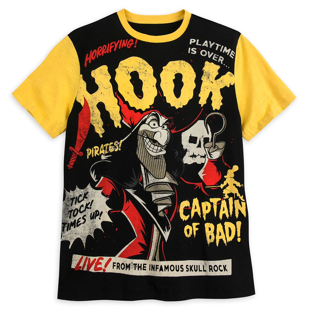 Captain Hook T-Shirt for Men – Disney Villains