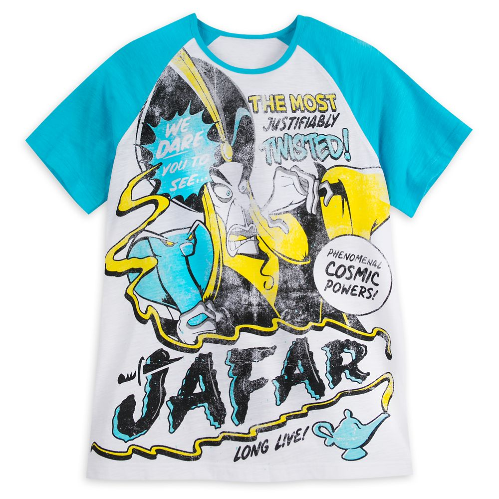 Jafar Raglan T-Shirt for Men – Disney Villains